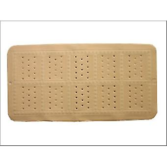 Croydex Medium Bath Mat Plain Ivory BB201017