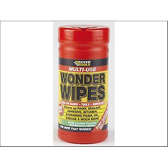 Everbuild Wonder Wipes Tub x 100