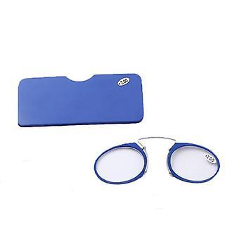 Clip Nase Mini Lesebrille Männer Frauen Leser verschreibungspflichtige Brillen