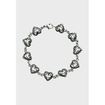 Kalevala Bracelet Women's Heart of the House Silver 256500011 - Length 205 mm