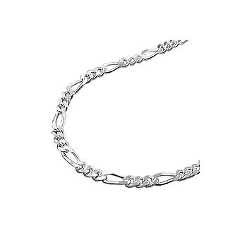 Necklace Figaro Chain Silver 925 45cm