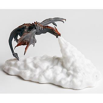 3d painettua tulta hengittävä Lohikäärmelamppu Kotiin Luova Yövalo Led