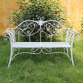 Outdoor Metal Iron Manufacturers, Iron Outdoor Double Chair Outdoor Leisure