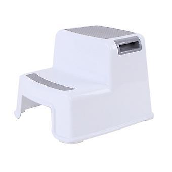 2 lépés Gyerekek széklet / WC Bili képzés csúszásgátló fürdőszoba konyha Tb