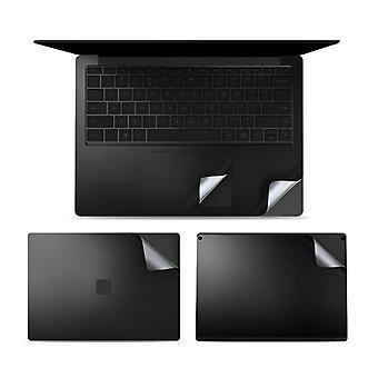 4 in 1 Notebook Shell Suojakalvo Tarrasarja Microsoft Surface Laptop 3 13,5 tuumaa (musta)