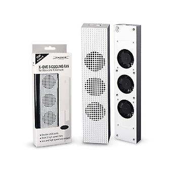 Xbox One S Cooling Fan With 2 Usb Ports Hub And 3 H/l Speed