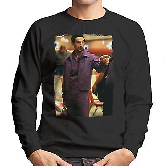 The Big Lebowski Jesus In The Bowling Alley Men's Sweatshirt