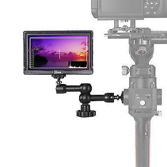Eyoyo e5 5& palcový poľný dslr kamerový monitor, prenosný mini IPs video monitor na kamere s magickým ramenom