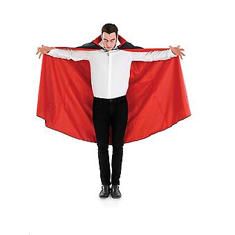 Fun shack adults vampire cape unisex red & black halloween dracula costume accessory one size red li