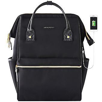 Kroser laptop backpack 15.6 inch school computer rucksack water repellent wide open college travel b