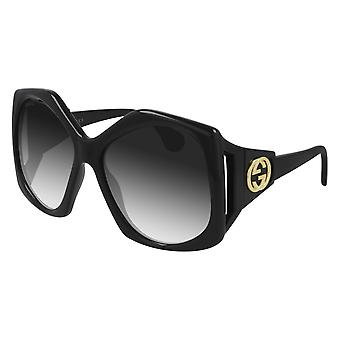 Gucci GG0875S 001 Black/Grey Sunglasses