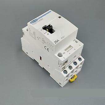 Ac Contactor Modular mit manuellem Steuerschalter von Din Rail Mount