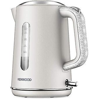Kenwood ZJP05.A0CR Abbey Cream design kettle, 1.7L with flip top lid, 360⁰ swivel base,  Cream