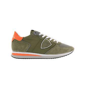 Philippe Model Trpx Low Manmondial_Vert Green A11ETZLUW067MONDIAL_VERT shoe
