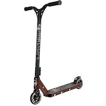 Scootin ruskea - alu & teräs - laakeripyörät - T-tanko