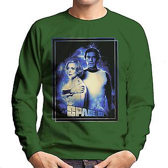 Space 1999 Helena Russell And John Koenig Men's Sweatshirt