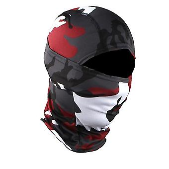 Camuflagem Militar Balaclava / Capacete Forro Headwears Máscaras faciais completas