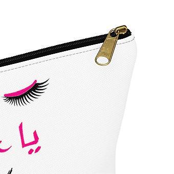 Entzückende Wimpern Design-Kosmetik-Tasche