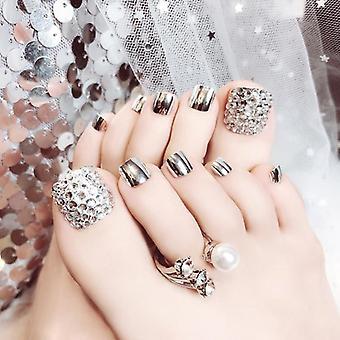 Falošné nechty Umelecké tipy, Umelé falošné nechty Tipy transparentné / prírodné akrylové Uv