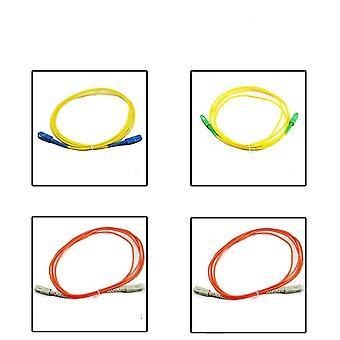 5.0 Meter Sc To Upc/apc Fiber Patch Cord Sm 9/125 Single Mode