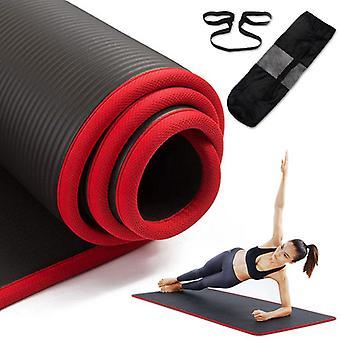 Tapis de gym Nbr épaissi de yoga non-slip