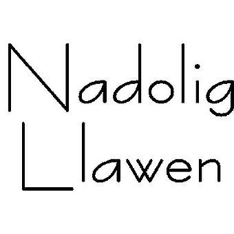 Nadolig Llawen (Merry Xmas) Wood Mounted Stamp