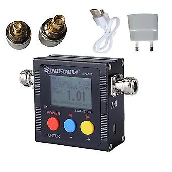 Sw-102 125-525 Digital Vhf/uhf Power Swr Meter til tovejs radio