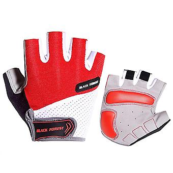 Breathable Half Finger Cycling Gloves
