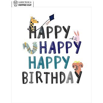 Hallmark I Used To Be A Coffee Cup Card - Happy Birthday