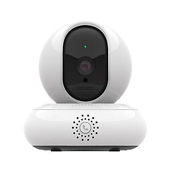 HD intelligent Internett-kamera Nattsyn Trådløs Sikkerhet Kamera 2 Millioner HD-nettverk Overvåking Ett-trykks Anrop 360 Graders Panorama 3D Navigasjonskamera for hjemmeovervåking, ta vare på babyer og eldre foreldre