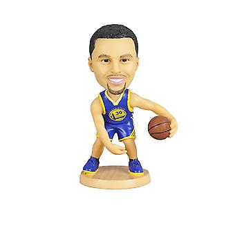 Golden State Warriors Stephen Curry Bobblehead Action Figure Statue Basketball Doll