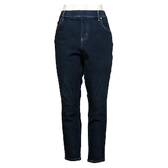 Belle By Kim Gravel Women's Petite Jeans Flexibelle Belted Blue A383462