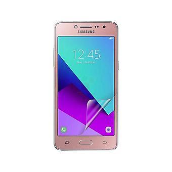 Celicious levendige onzichtbare Glossy HD Display Beschermer Film compatibel met Samsung Galaxy J2 Prime [Pack van 2]