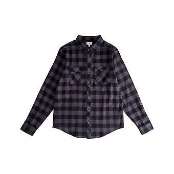 Billabong All Day Camisa de manga larga de franela en negro