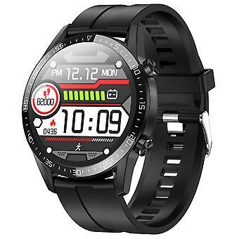Smart Watch Men Waterproof IP68 Smartwatch  For Android Phone  Watches(Black)