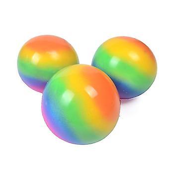 2Pcs pressure ball, colorful creative decompression toys, strengthen hands, relax gadgets az16578
