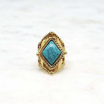 Bague Femme Niiki Paris - NCR142T - Bleu - Collection Colors