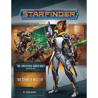 Starfinder Adventure Path: The Chimera Mystery (The Threefold Conspiracy 1 de 6) de Jason Keeley (Broché, 2020)