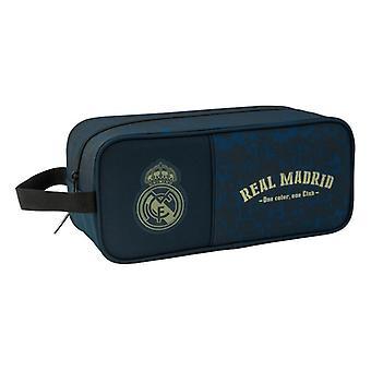 Soporte de zapatilla de viaje Real Madrid C.F. Azul Marino