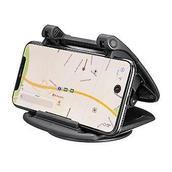 Tableau de bord ventouse de voiture porte-téléphone clamp car support 360 degrés rotation pour téléphones intelligents de 3,5 à 6,5 pouces