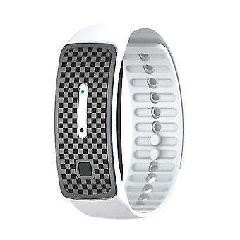 Portable Electronic Mosquito Repeller, Ultrasonic Repellent Wristband(White)