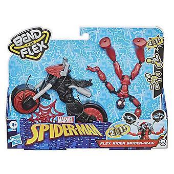 Spiderman Hasbro Moottoripyörä