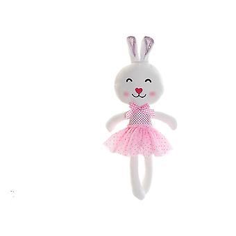 Pörröinen lelu DKD Home Decor Rabbit (23 x 8 x 45 cm)