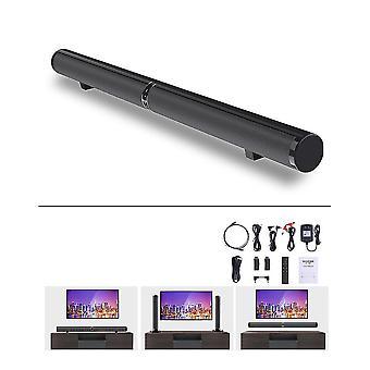 Bar Audio TV Subwoofer Home Wireless Echo Wall Home Theater Bluetooth Speaker(Black)