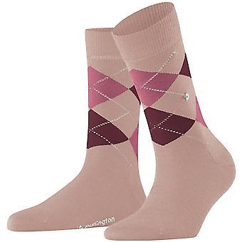 Burlington Marylebone Socken - Pink/Burgund