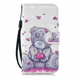 Honor 8s Case 3d Pu Leather Case For Huawei Honor 8s Cover Huawei Honor 8s Fundas Wallet Flip Stand Phone Cases