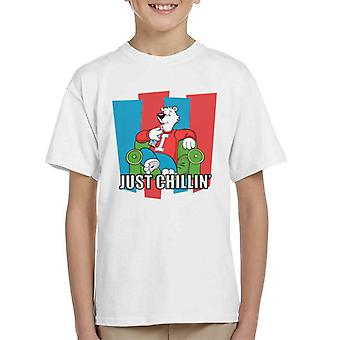 ICEE Polar Bear Just Chillin Kid's T-Shirt