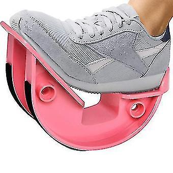 家庭用斜めアキレス腱伸張器、フィットネスカーフ筋弛緩機(ピンク)