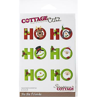 """CottageCutz Dies - Ho Ho Friends, 1.4"""" To 1.7"""""""