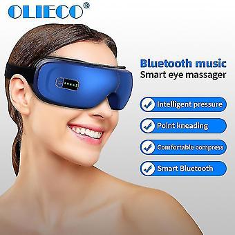 Akumulator do masażu terapii oczu MASAŻER SPA Ciśnienie Ogrzewanie Zmęczenie oczu Łagodzi| Instrument do masażu oczu
